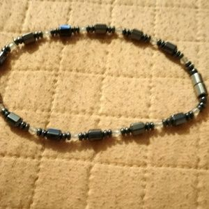 Jewelry - MAGNETC HEMATITE ANKLE WITH MAGNETIC CLOSE